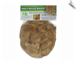 "Alpaca Nesting Material <br><span style=""color:#1954e9;"">New Item!</span>"