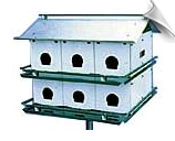"Purple Martin Pioneer House - 12 Room <br><span style=""color:#1954e9;"">New Item!</span><br>"