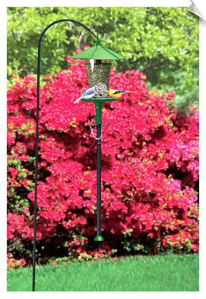 "The Effort_Less Hang-Up Bird Feeder <br><span style=""color:#1954e9;"">New Item!</span>"