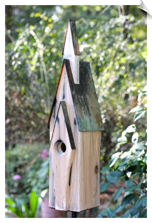 Graceland Birdhouse