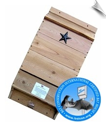 Lone Star Single Chamber Bat House