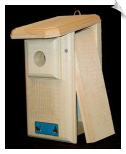 "Observation Bluebird House <br><span style=""color:#1954e9;"">New Item!</span>"