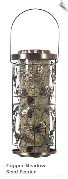 Copper Meadow Seed Feeder