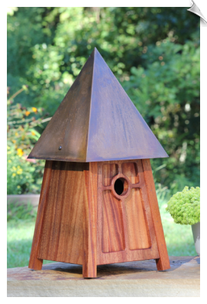 "Mission Melody Birdhouse <br><span style=""color:#1954e9;"">New Item!</span>"