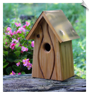 Old Waverly Birdhouse