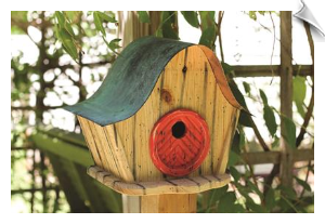 Katy's Kottage Birdhouse
