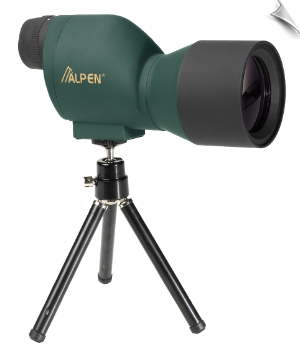 Alpen Waterproof Mini Spotting Scope 20x50