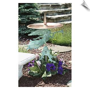 Good Directions - Yard & Garden - Angel Birdbath