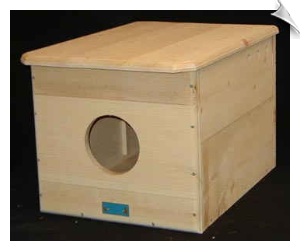 "Barn Owl House <br> <span style=""color:#1954e9;"">New Item!</span>"