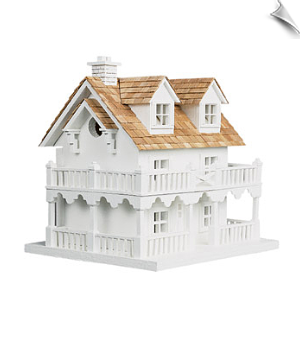 Cape Cod Cottage Birdhouse