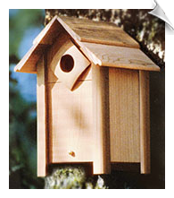 Schrodt - Large Nesting Box Birdhouse