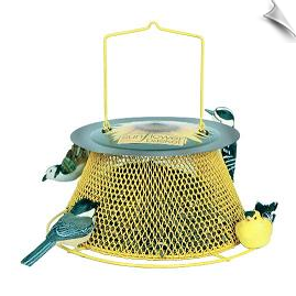 "Sunflower Basket ""NO/NO"" Feeder <br><span style=""color:#1954e9;"">New Item!</span>"