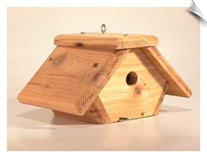 Rough Cedar Wren House