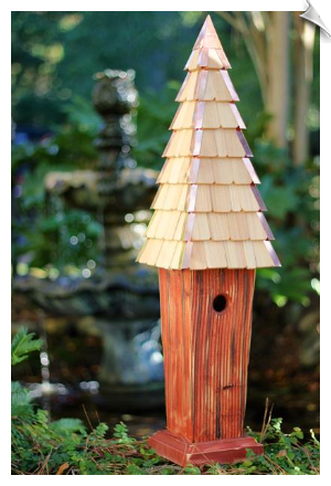 Skyscape Birdhouse