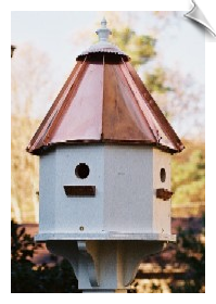 Sunset Lodge Birdhouse