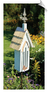 Butterfly Chapel with Mounting Stake <br>