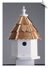 Starlight Bungalow Birdhouse