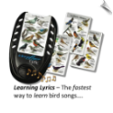 "IdentiFlyer Lyric <br> The Fastest Way to Learn Bird Songs <br><span style=""color:#1954e9;"">New Item!</span>"