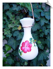 "Handpainted Raindrop Hummingbird Feeder <br> 2 Designs <br> <span style=""color:#1954e9;"">New Item</span>"