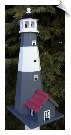 "Tybee Lighthouse Birdhouse<br> <span style=""color:#1954e9;"">New Item</span>"