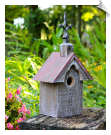 Cottonwood Chapel Birdhouse