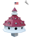 "Hotel California Purple Martin Birdhouse<br><span style=""color:#1954e9;"">New Item!</span><br>"
